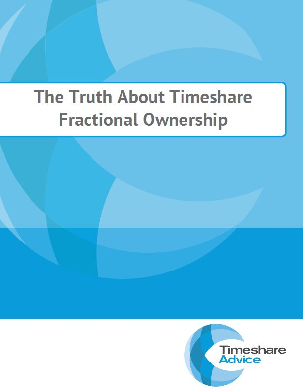Free Guides - Timeshare Advice